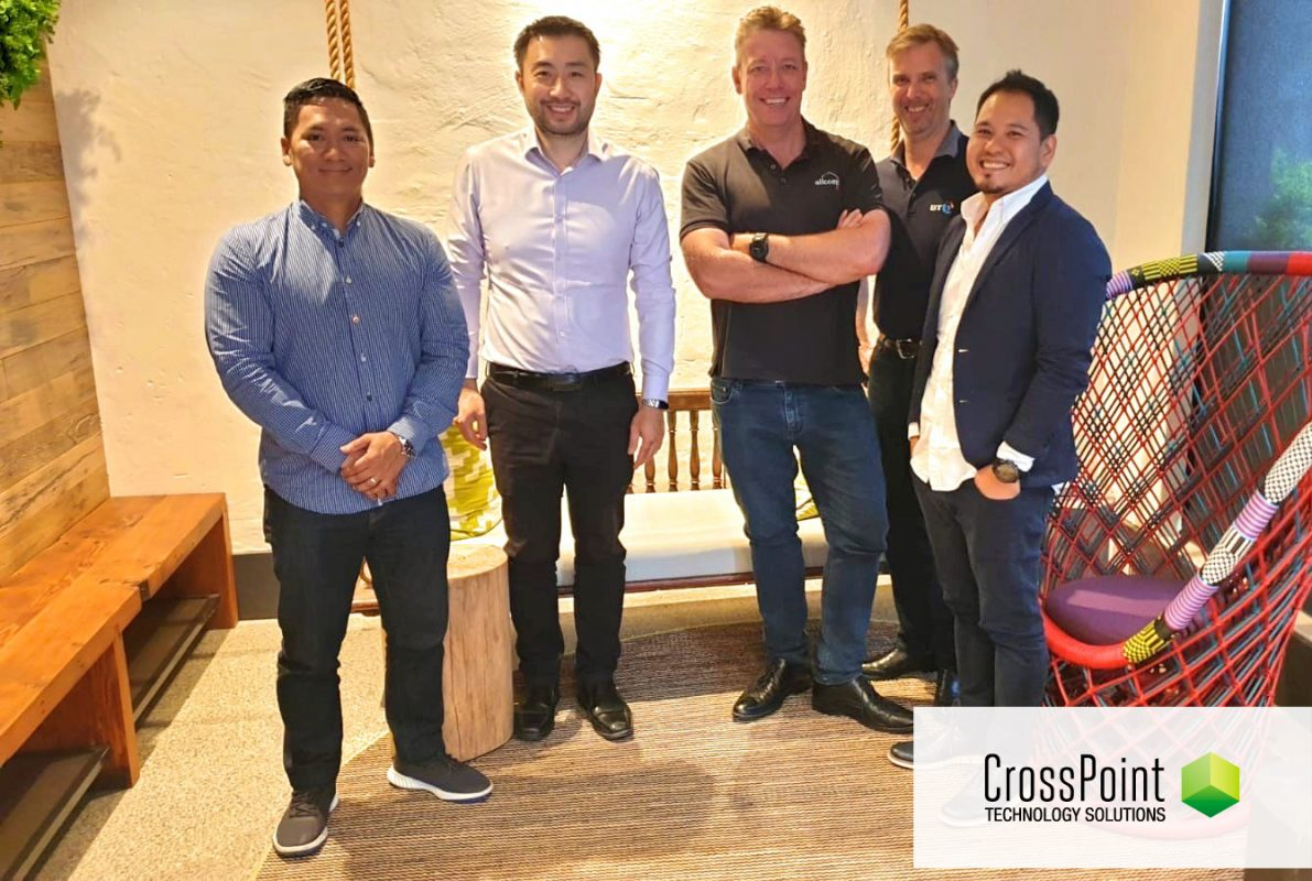 """""""It was fantastic to have our team from Manila come to Sydney to further develop and grow our managed services capabilities across the Manila and Australia team."""" – David Reid – Head of Managed Services (CrossPoint Sydney)"""